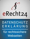 Partner eRecht24 Datenschutzerklärung